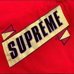 Supreme Tee Red Ribbon
